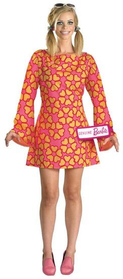 Deluxe 60s Adult Barbie Costume