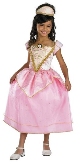 Barbie Royal Party Pink Princess Kids Costume