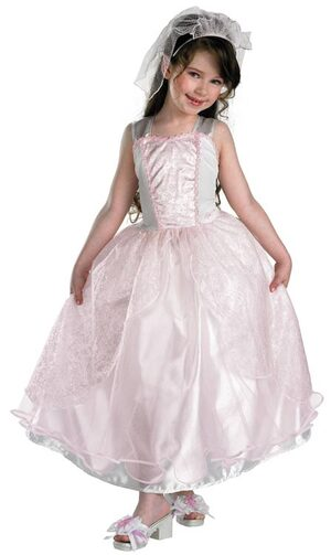 Barbie My Wedding Day Kids Costume