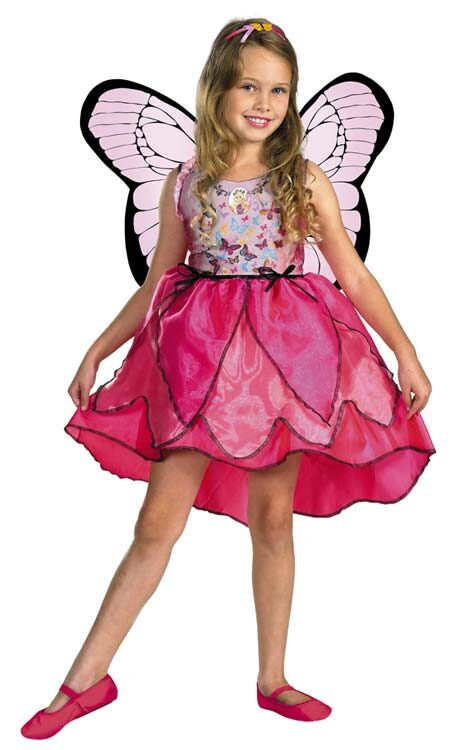 Kids Deluxe Barbie Mariposa Toddler Butterfly Costume  sc 1 st  Mr. Costumes & Kids Deluxe Barbie Mariposa Toddler Butterfly Costume - Mr. Costumes
