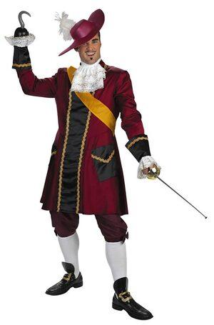 Adult Captain Hook Prestige Pirate Costume