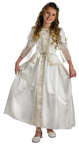 Kids Queen Elizabeth Deluxe Pirates of the Caribbean Costume