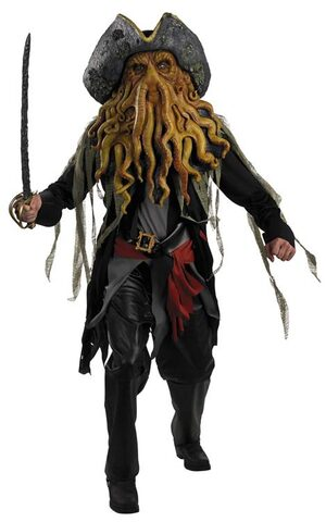 Disney Adult Davy Jones Deluxe Pirates of the Caribbean Costume