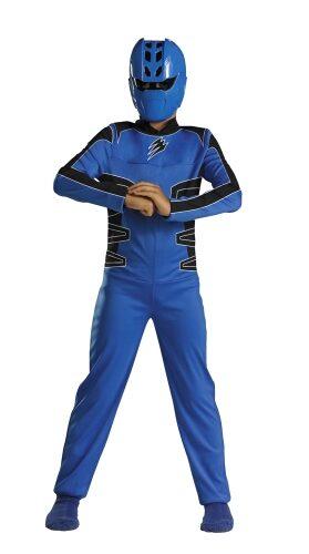 Disney Blue Power Ranger Kids Costume