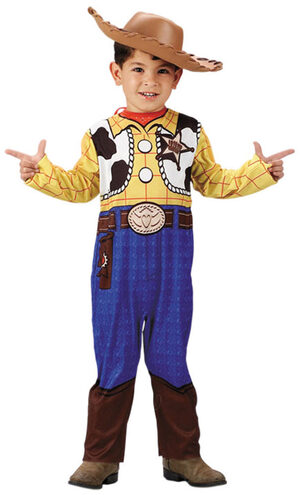 Disney Toy Story Woody Kids Cowboy Costume