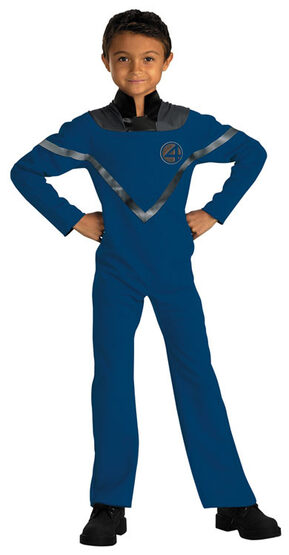 Mr Fantastic Kids Costume