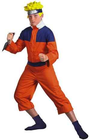 Naruto Ninja Deluxe Kids Costume