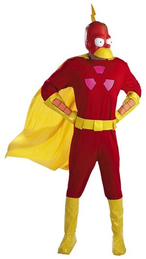Simpsons Radioactive Man Deluxe Adult Costume