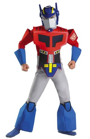 Transformers Optimus Prime Deluxe Kids Costume