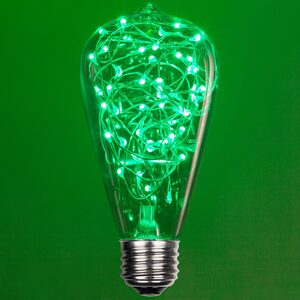 ST64 Green LED Replacement Bulbs