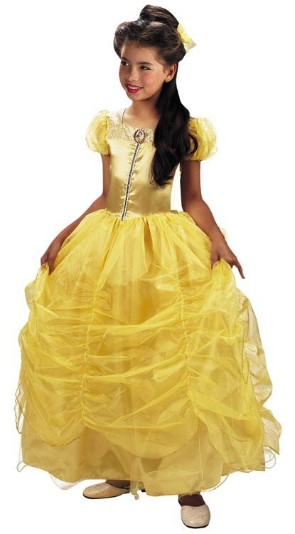 Kids Prestige Disney Princess Belle Costume  sc 1 st  Mr. Costumes & Kids Prestige Disney Princess Belle Costume - Mr. Costumes