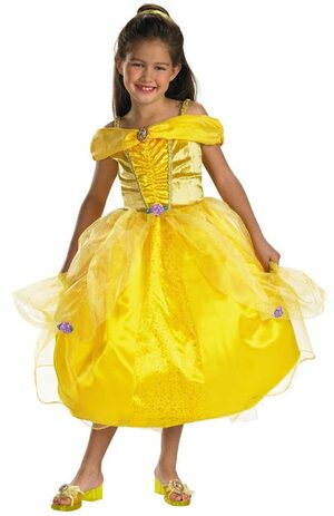 Kids Deluxe Disney Princess Belle Costume