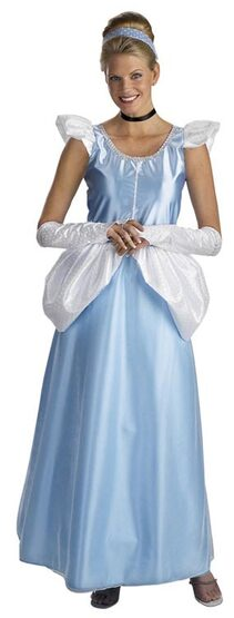 Adult Disney Deluxe Princess Cinderella Costume