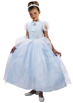 Kids Prestige Disney Princess Cinderella Costume