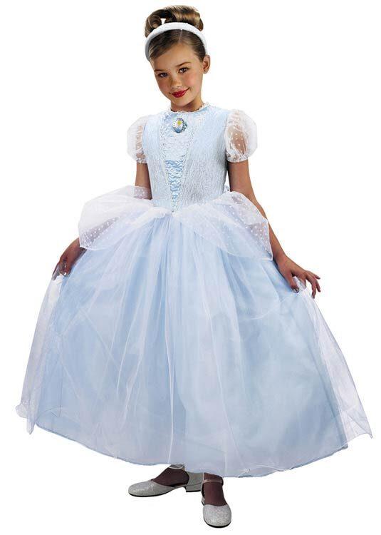 Kids Prestige Disney Princess Cinderella Costume  sc 1 st  Mr. Costumes & Kids Prestige Disney Princess Cinderella Costume - Mr. Costumes
