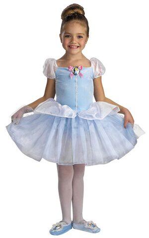 Kids Disney Cinderella Ballerina Costume