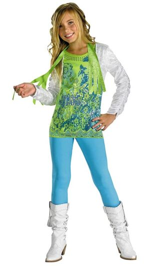 Hannah Montana Kids Costume with Shrug