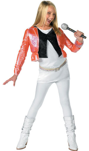 Hannah Montana Kids Costume with Pink Jacket