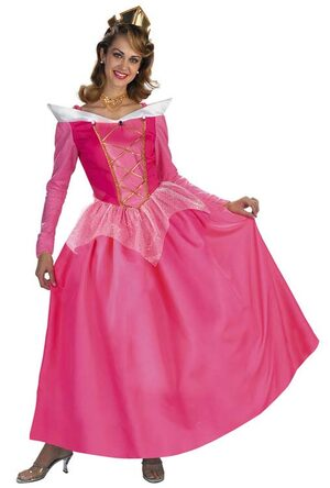 Disney Sleeping Beauty Aurora Prestige Adult Costume