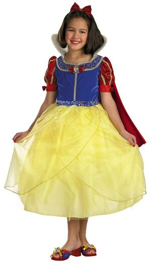 Kids Disney Deluxe Snow White Costume