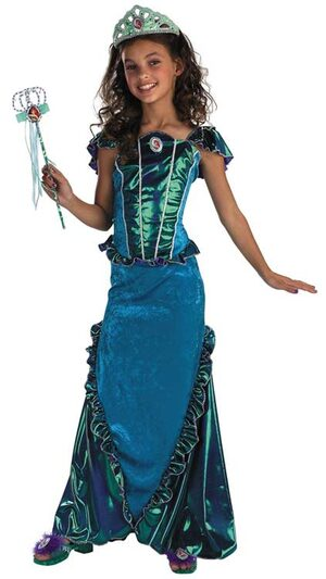 Disney Deluxe Little Mermaid Ariel Kids Costume