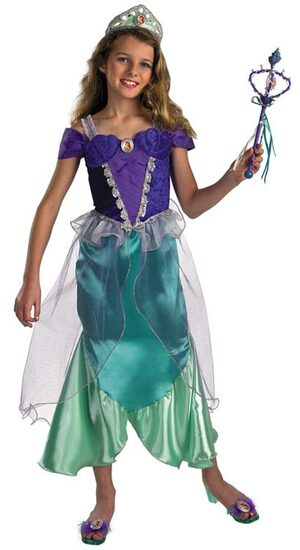 Kids Prestige Little Mermaid Disney Ariel Costume
