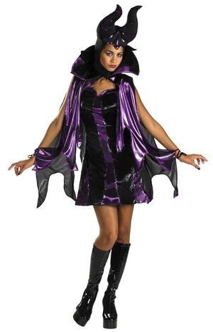 Disney Hottie Maleficent Womens Costume