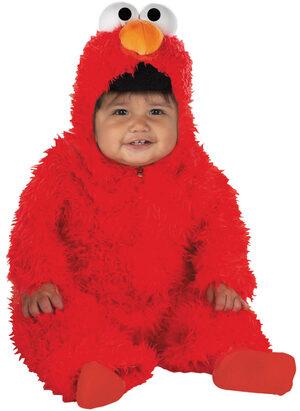 Elmo Deluxe Plush Baby Costume
