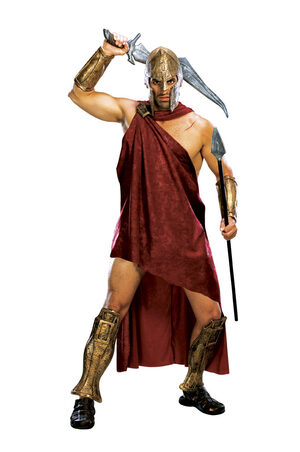 Mens Spartan Deluxe Greek Costume