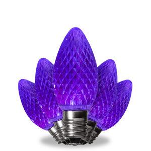 C7 Purple LED Light Bulbs