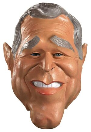 Bush Oversized Vinyl Adult Mask