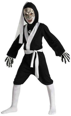 Skull Ninja Deluxe Kids Costume