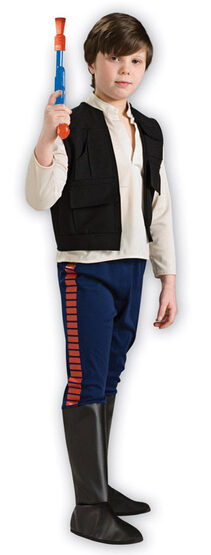Star Wars Han Solo Deluxe Kids Costume