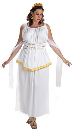 Athena Plus Size Greek Goddess Costume
