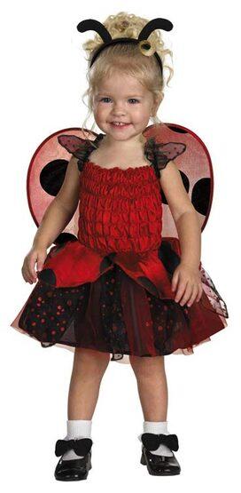 Babybug Ladybug Toddler Costume