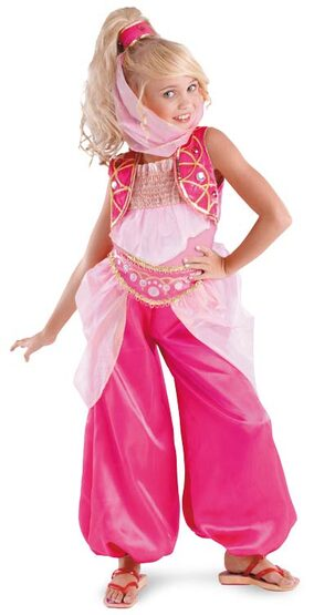 Kids Genie Barbie Costume