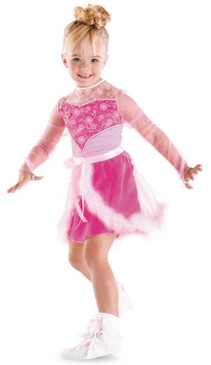Girls Skating Sensation Toddler Barbie Costume