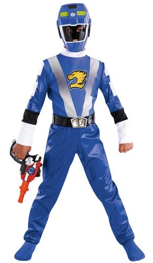 Disney Blue Power Ranger Toddler Costume