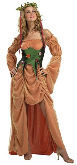 Mother Nature Goddess of the Earth Adult Costume