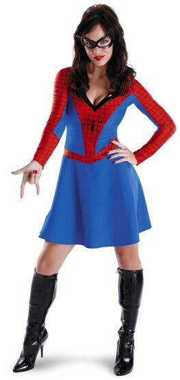 Womens Adult Spider Girl Costume