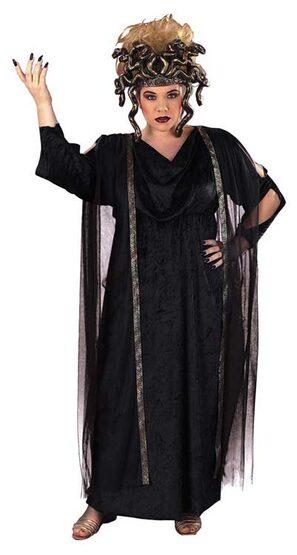 Black Medusa Plus Size Greek Costume