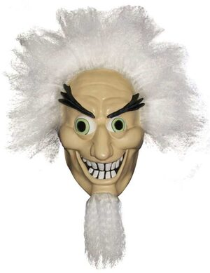 Adult Swim Mad Scientist Mask