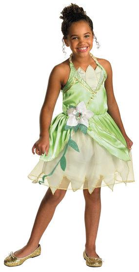 Girls Disney Princess and the Frog Tiana Costume