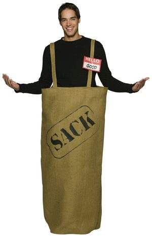 Good in the Sack Funny Adult Costume