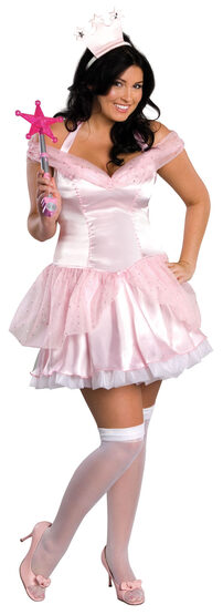 Sexy Glinda the Good Witch Plus Size Costume