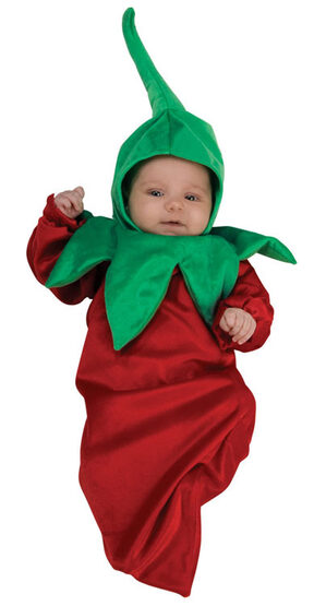 Infant Chili Pepper Baby Costume