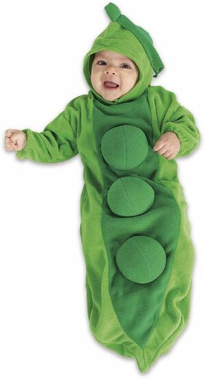 Infant Pea in Pod Deluxe Baby Costume