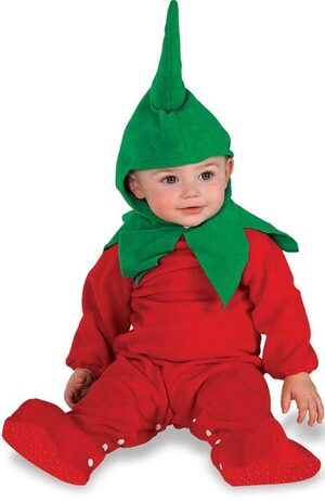 Red Hot Chili Pepper Baby Costume