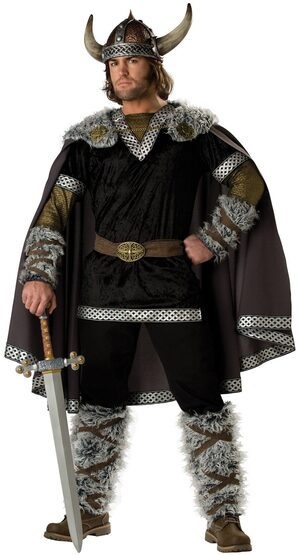 Viking Warrior Adult Costume