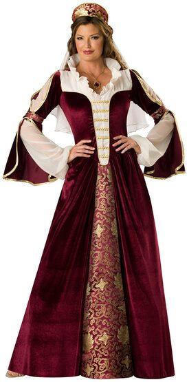 Adult Elegant Empress Renaissance Costume